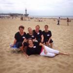 De Party & Event Nanny's op het strand van Scheveningen